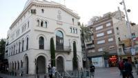 Vista de l'Ajuntament de Badalona