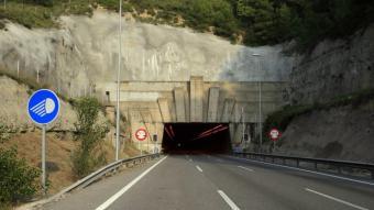 El túnel del Bruc, en una imatge d'arxiu