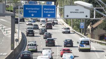 Uns 485.000 vehicles sortiran de l'àrea metropolitana de Barcelona, amb motiu del cap de setmana llarg de Tots Sants