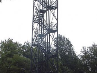 La torre del turó Gros, al Montnegre Ramon Ferrandis