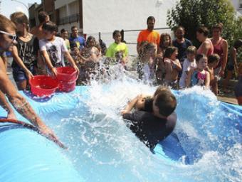La festa tindrà una nova edició de la guerra d'aigua XAvier Solanas