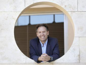 Enric Gisbert, primer president de l'Associació d'Hotels del Vallès Oriental Xavier Solanas