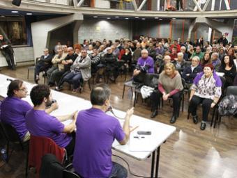 Podem Granollers va reunir unes 120 persones dimarts al vespre a La Troca Griselda Escrigas