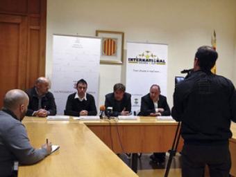 La presentació es va fer dimecres al vespre a la sala de plens de l'ajuntament de la Garriga