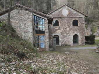L'antiga fàbrica dels pans de carbó, rehabilitada ara fa tres anys, acollirà el futur Museu de la Mineria Jordi Puig