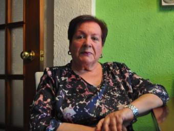 Josefina Guasch, a casa seva Josep Gallofré