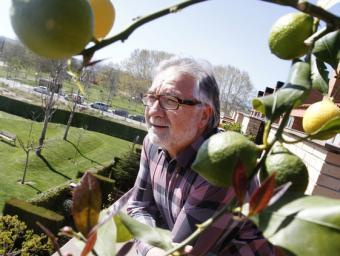 Joan Gassó fa uns dies a casa seva, a Sant Fost Griselda Escrigas