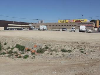 L'empresa Barry Callebaut està situada en una zona industrial aïllada de Gurb Jordi Puig