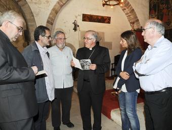 El bisbe de Terrassa ha visitat aquest dies l'església de la Doma Ramon Ferrandis