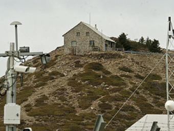 L'estació meteorològica de Puigsesolles, a tocar del Turó de l'Home Ramon Ferrandis