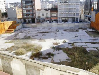 Estat de l'actual solar de Policlínica al centre de Granollers Griselda Escrigas