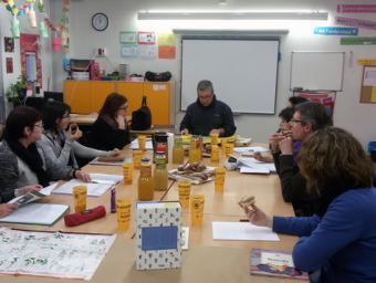 Fotografia d'una de les sessions Mancomunitat La Plana