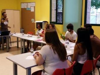 Imatge d'una de les sessions Mancomunitat La Plana