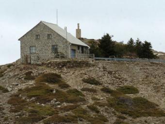 L'actual edificació del cim del Turó de l'Home Ramon Ferrandis