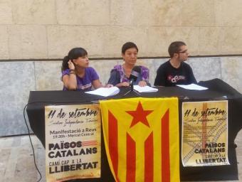 Presentació dels actes de l'Esquerra Independentista per l'11 de setembre Josep Gallofré