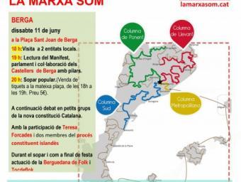 Arrenca a Berga la Marxa Som, aquest cap de setmana Aquí Berguedà