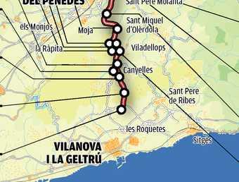 Obres de l'eix diagonal (C-15) entre Manresa i Vilanova i la Geltrú