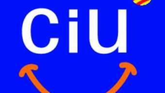 El logotip de CiU