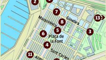 Meses de votació anticipada a la Barceloneta
