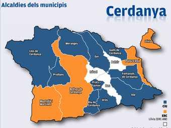 Alcaldies dels municipis
