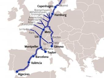 Gran eix europeu