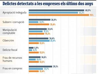 Delictes detectats empreses EL PUNT AVUI