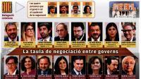 La delegació catalana inclou partits