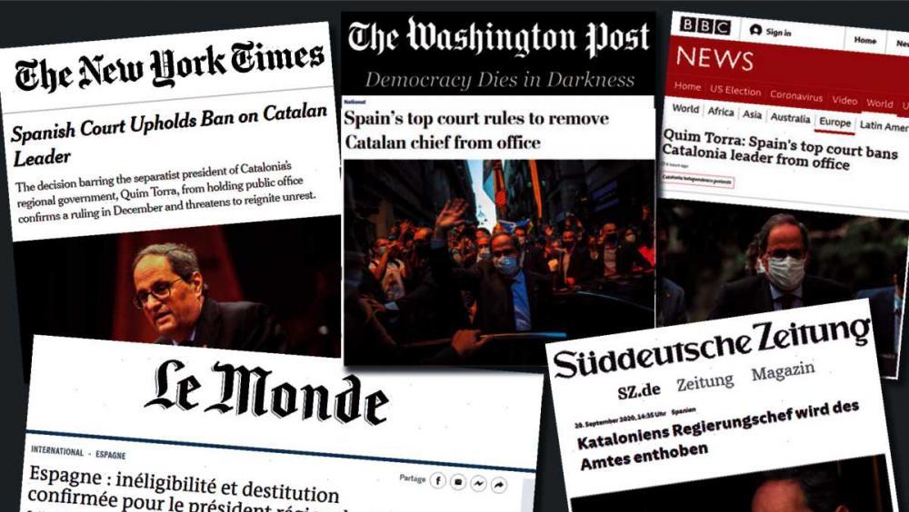 La premsa internacional veu el risc de més tensions