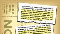 Fragments de l'article que va escriure Rita Vallespí a Emporion el gener del 1932