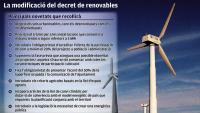 El nou decret de renovables vol reduir el rebuig al territori