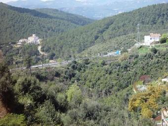 Finca de Can Busquets que formarà part del parc natural de Collserola.  CARLES ALUJU