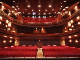 El Teatre Serrano de Gandia serà un bon contenidor d'actes d'aquesta celebració. /  ARXIU
