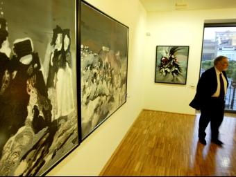 La nova seu de la Fundació Tharrats d'Art Gràfic es va inaugurar a Can Comas l'abril del 2006. Q. PUIG