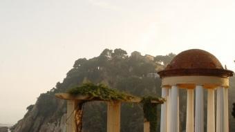 El jardí Mar i Murtra, a Blanes, ofereix molts miradors i balconades amb magnífiques vistes al mar.  EL PUNT