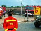 Bombers i forestals es distribueixen les tastques d'atac al foc des de zones vaïnes a l'incendi   Tjers Van der Meulen