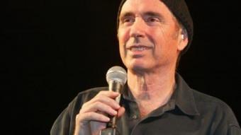 Llach, en el seu últim concert, a Verges.  MIQUEL RUIZ