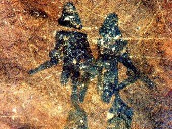 Les rupestres pintures del Cogul . Els ajuts serviran per continuar amb la construcció del centre d'interpretació. EL PUNT
