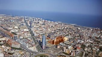 El districte 22@, que inclou quinze illes, ha permès augmentar el teixit industrial de Barcelona.  ARXIU