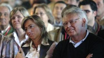 Chacón i González, en un míting del PSC del 2008 V.D.M