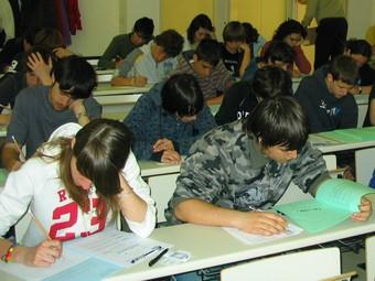 Els estudiants es planificaran les tasques a l'agenda lliurada. /  ARXIU