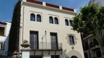 Seu de la Fundació Pere Coromines a Sant Pol de Mar.  ARXIU / DANIEL LUJAN