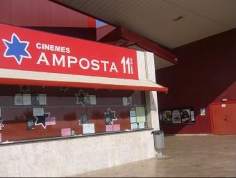 Els multicines d'Amposta van obrir al públic el febrer del 2001. ARXIU