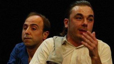 Teatre de Guerrilla obrirà la mostra. LLUÍS SERRAT