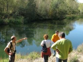 El riu Fluvià al pas per Sant Mori.  EL PUNT