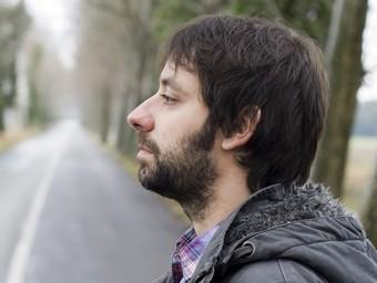 El cantautor bisbalenc Jaume Pla, Mazoni.