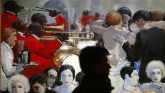 'Dancing' (1929), de Josep Mompou, en una exposició a La Pedrera, el 2009  ARXIU /GABRIEL MASSANA