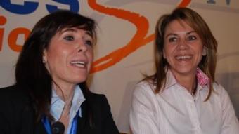 Alícia Sánchez-Camacho i María Dolores de Cospedal.  ACN