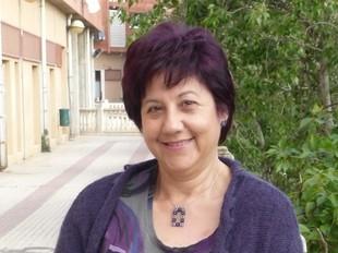 Carmen Guzmán presideix l'associació veïnal.  M.L