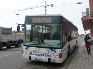 Un dels autobusos que cobrirà la línia reforçada.  M.C.B