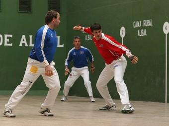 Imatge de la partida jugada a l'abril passat a la localitat d'Albal. / FREDIESPORT